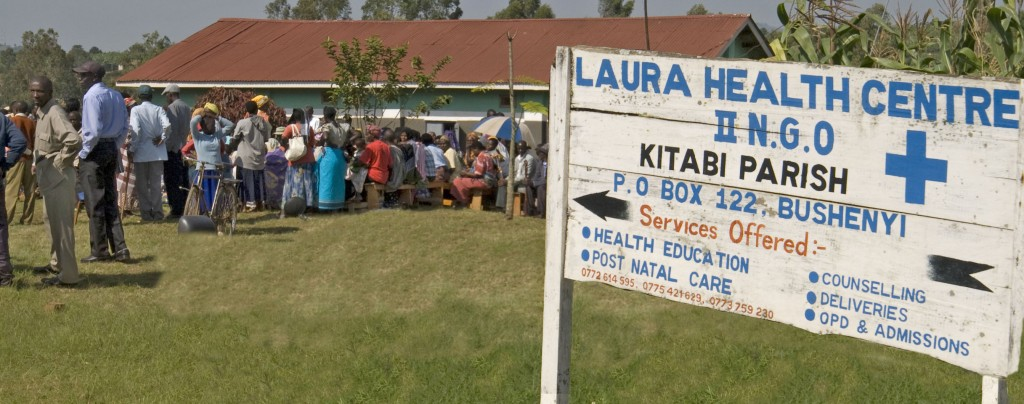 Laura Clinic sign