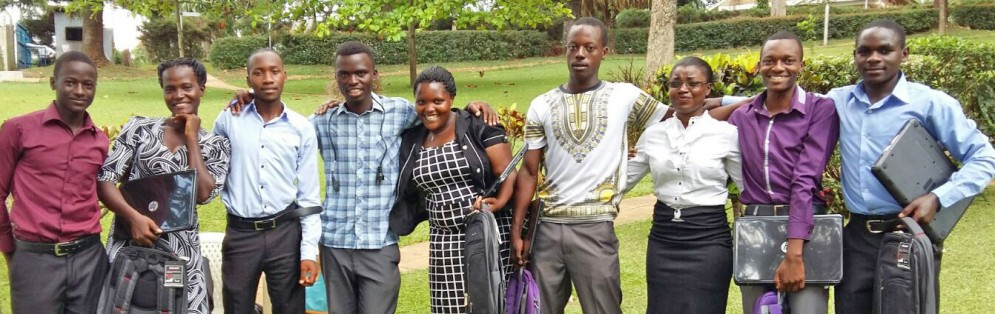BARHD's students at Mukono University